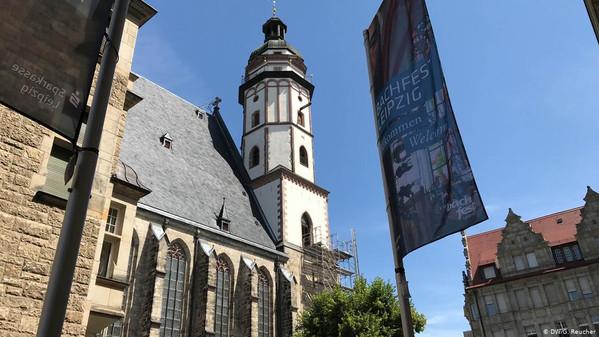 Leipzigi Thomaskirche langes vandaalide ohvriks