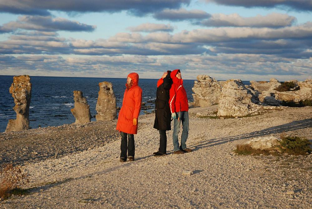 Kontserdireis viis Una Corda 2012. aastal Gotlandile. FOTO MIRJAM TALLY.