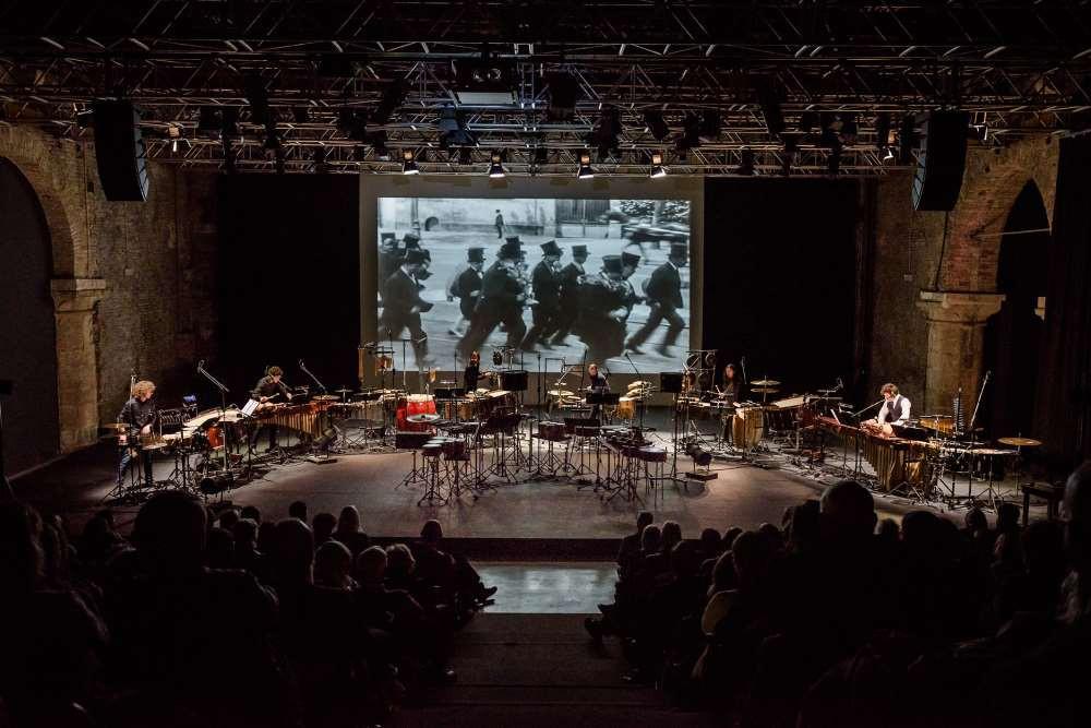 Les Percussions de Strasbourg. FOTO EMANUELA CALDIROLA