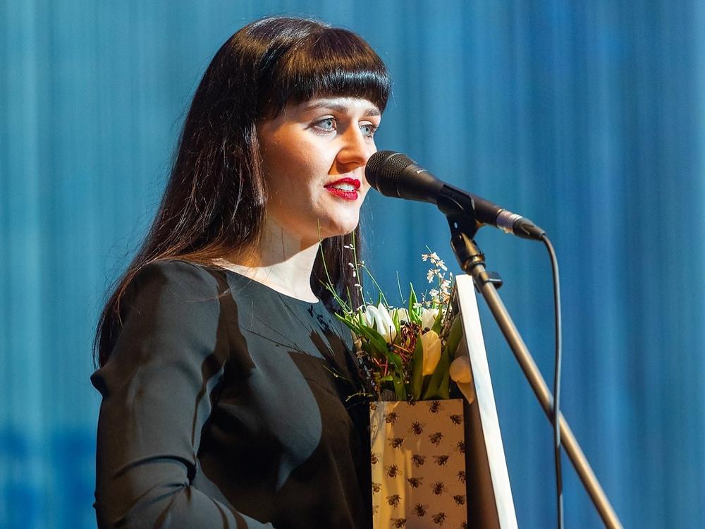 Aasta noor koorijuht Ingrid Roose. FOTO VAHUR LÕHMUS