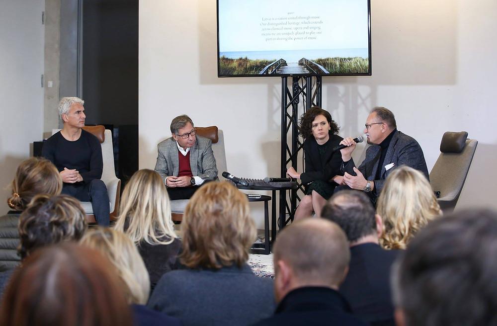 Uue festivali pressikonverents Riias 30. novembril 2018