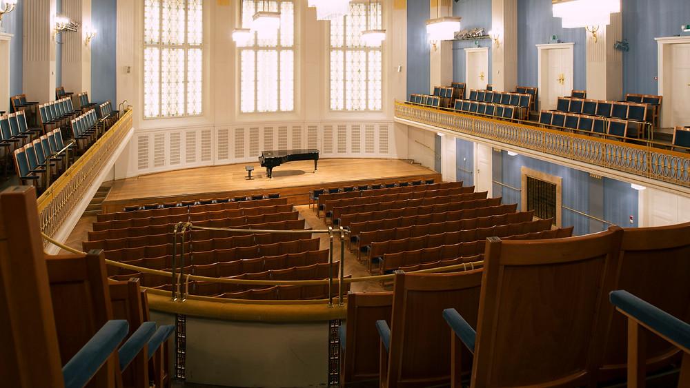 Viini kontserdimaja Mozarti saal. FOTO HTPPS://KONZERTHAUS.AT