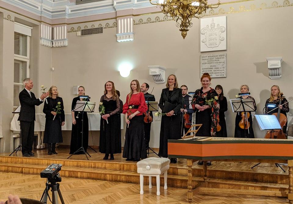 "Festivali ""Tallinn feat. Reval"" avakontsert novembris 2019 Tallinna reaalkooli saalis. FOTO MATTHIAS BOLLINGER."