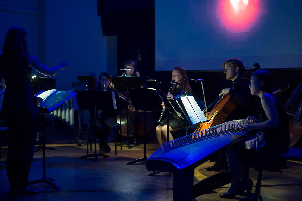 Reedene festivalipäev tõi fookusesse tudengid, kontserdi andsid ka CoPeCo eksperimentaalse muusika õppeplatvormi tudengid. FOTO RENE JAKOBSON