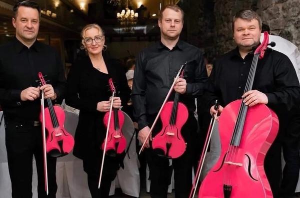 Pink String Quartet debüteeris Saksamaal