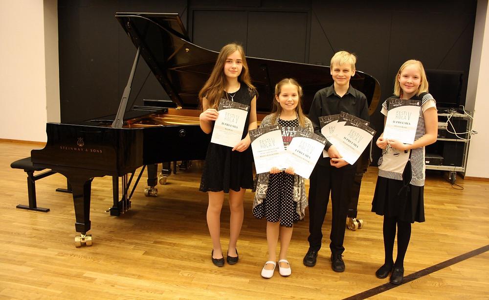 Keila muusikakooli lapsed. FOTO EVA TEPPO
