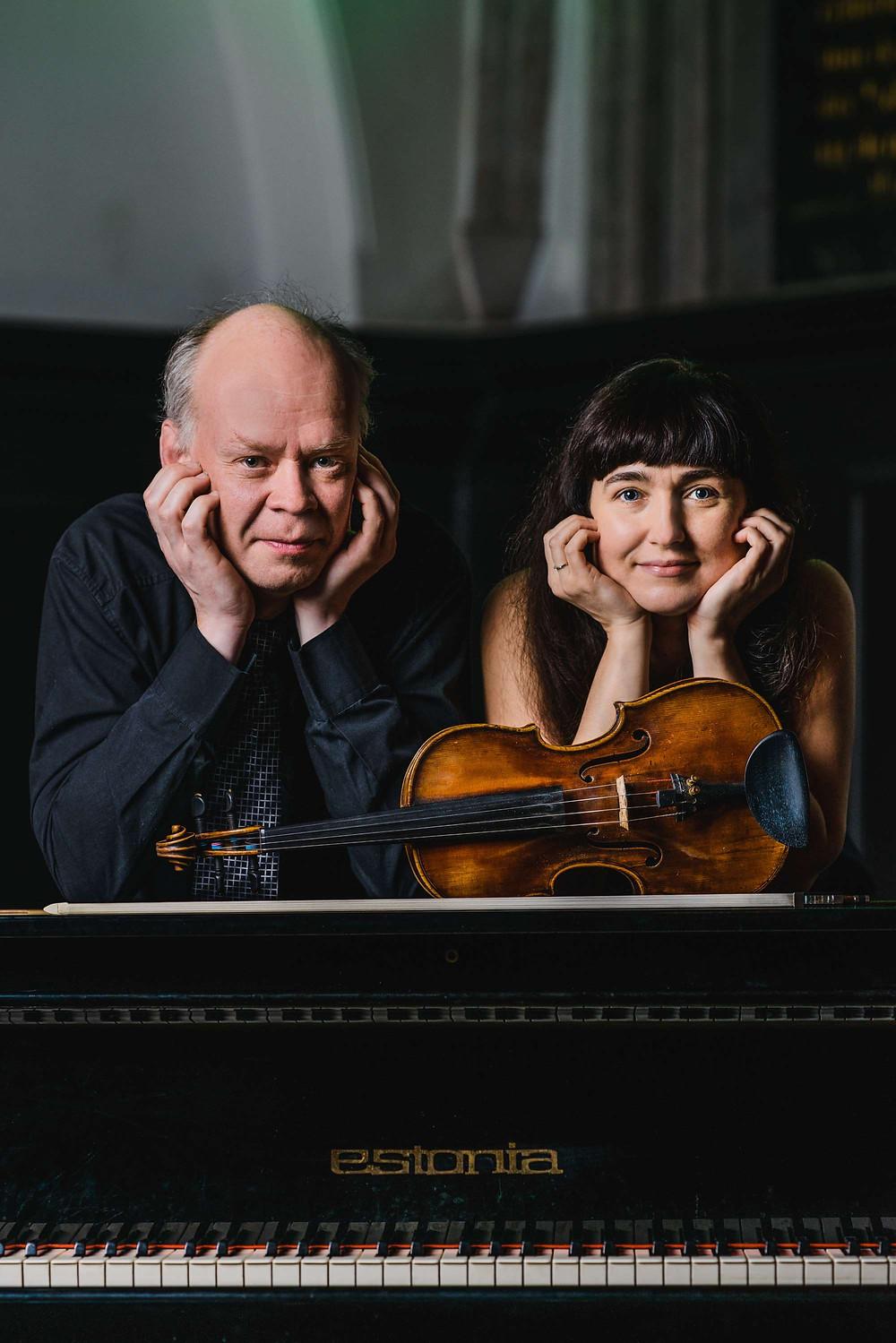 Olga Voronova ja Mati Mikalai. FOTO MAIT JÜRIADO