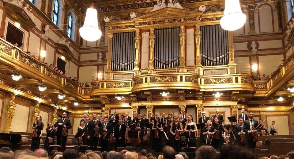 Eesti Sinfonietta Musikvereinis. FOTO EESTI SINFONIETTA