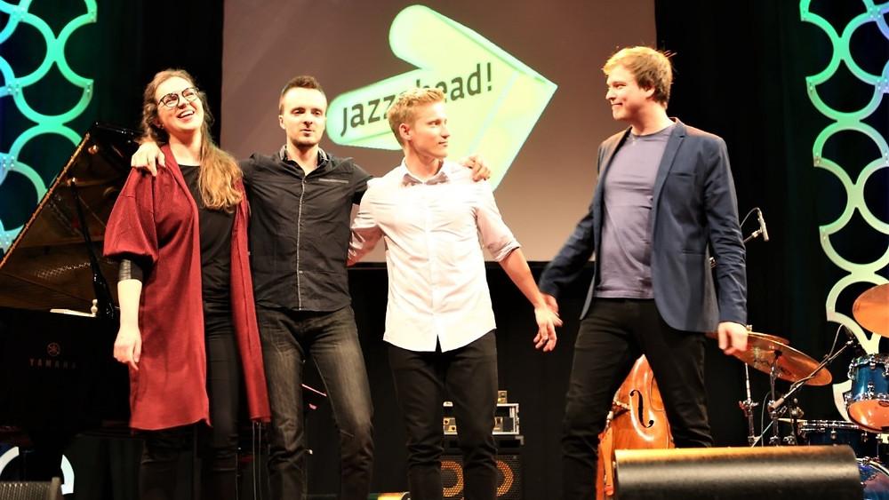 Kirke Karja kvartett. Foto Madli-Liis Parts