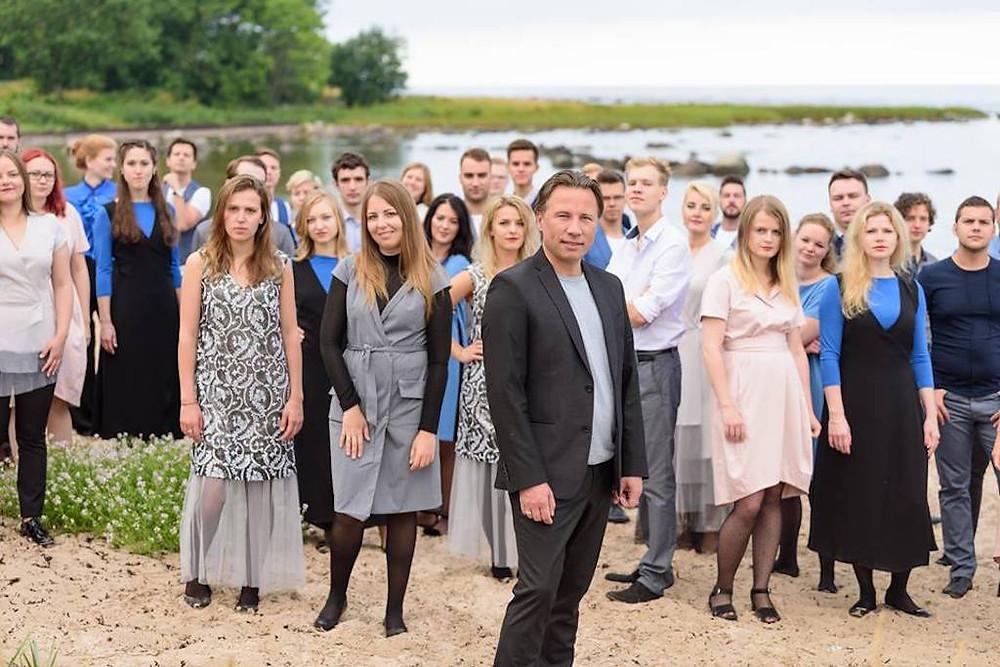 Läänemere Filharmooniaorkester Montoni rõivastes