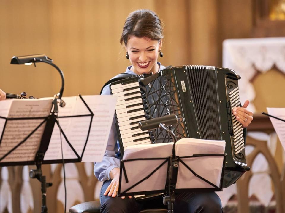 Kõigis punktides kõrgetasemeline oli ka Läti akordionivirtuoosi Ksenija Sidorova kontsert.
