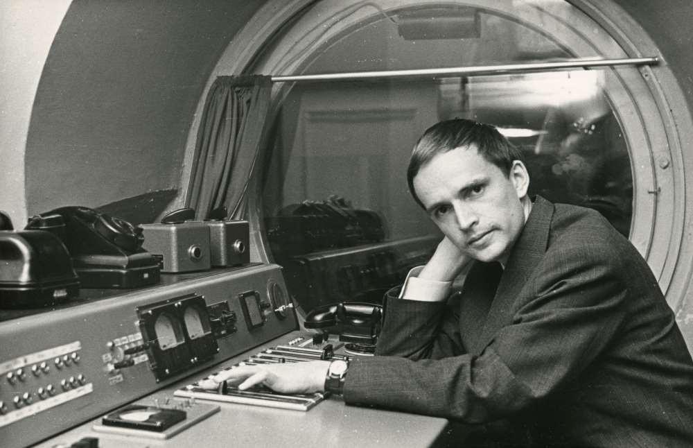 Eesti Raadiosse sai Jaan Rääts helirežissööriks juba üliõpilasena. FOTO TMMi KOGUST