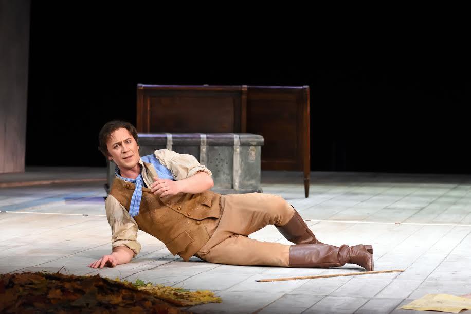René Soom tegi Figarona nii vokaalselt kui ka lavaliselt oma seni parima rolli. FOTO HARRI ROSPU