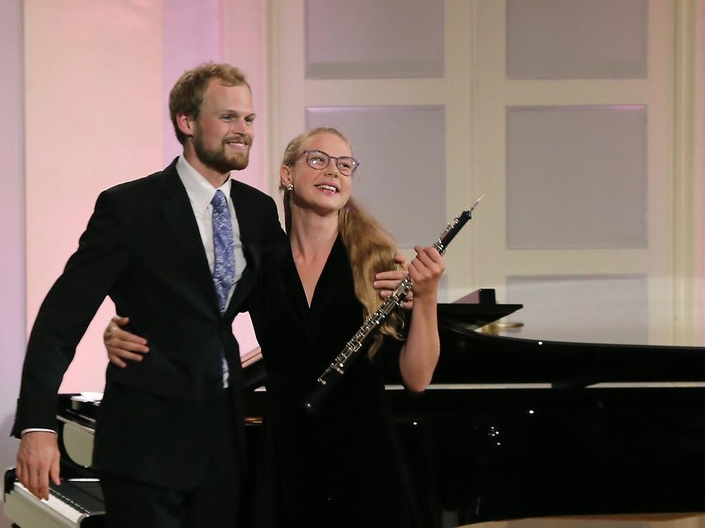 Ingely Laiv-Järvi ja Jakob Teppo. FOTO PIIA RUBER