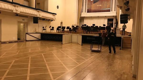 Estonia kontserdisaali renoveerimistööd