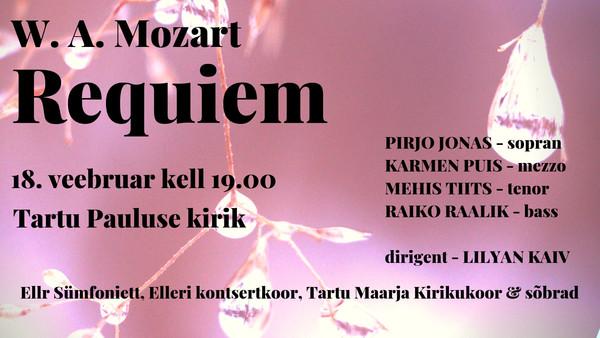 Mozarti reekviem Tartus