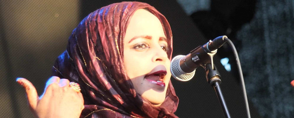 Mauritaania lauljatar Noura Mint Seymali. FOTO AVO KARTUL