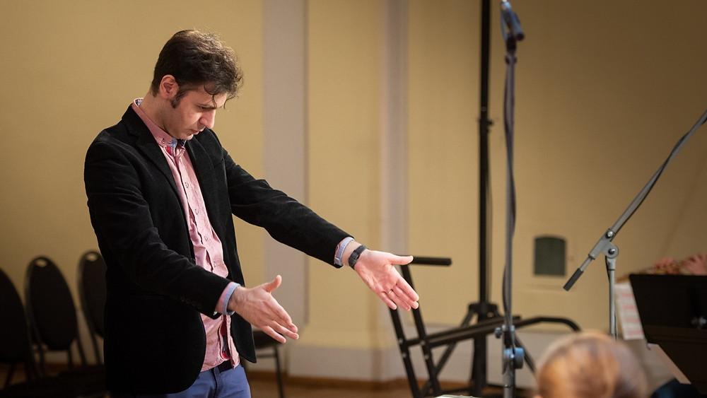 Festivali kõige jõulisema elamuse pakkus EMTA doktorandi Arash Yazdani autorikontsert. FOTO RENE JAKOBSON
