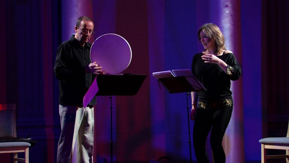 Poul Høxbrole Taanist ja sopran Elisabeth Holmertzile Norrast