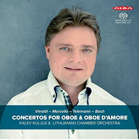 Vivaldi, Marcello, Telemann, Bach. Kontserdid oboele ja oboe d'amore'le. Kalev Kuljus, Leedu kammero