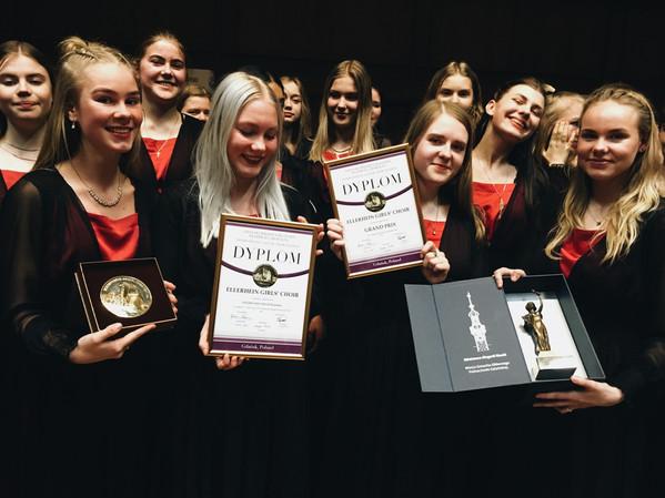 Eesti koorid võidutsesid Gdanski koorikonkursil