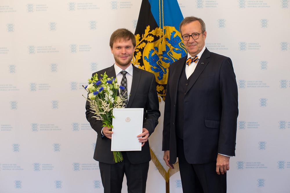 Pärt Uusberg ja vabariigi president
