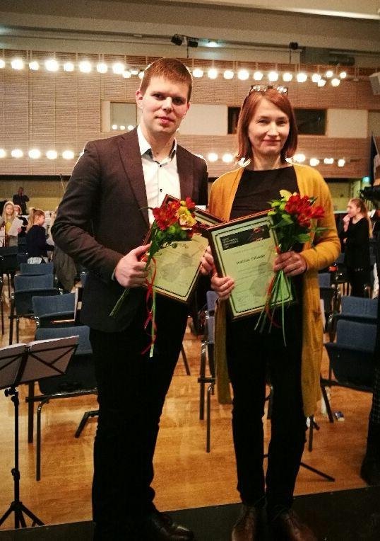 Riivo Jõgi ja Katrin Talmar. Foto: www.orkestrid.ee