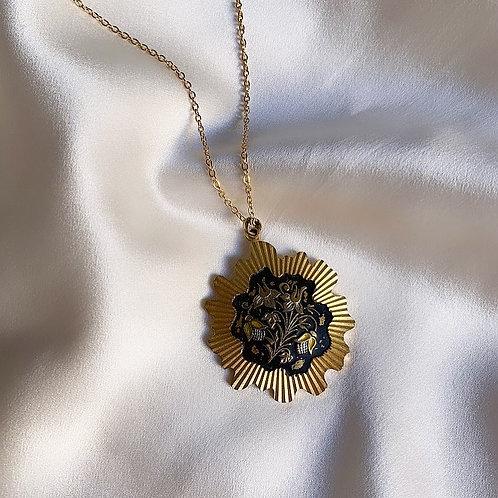 Vintage Toledo locket Necklace