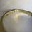 Thumbnail: Garnet gold plated ring