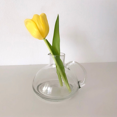 Bougeoir soliflore en verre 🌷