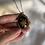 Thumbnail: Limoges porcelain flowers locket