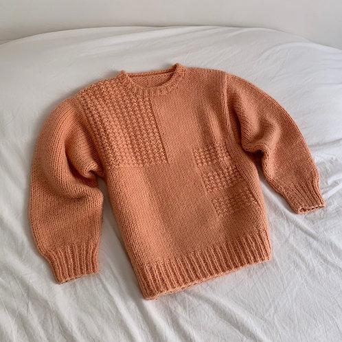 Pull en laine fait main