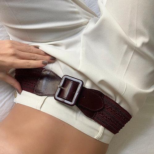 Stretch vintage belt