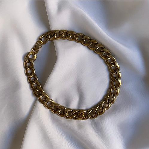 Ras de cou chaîne dorée