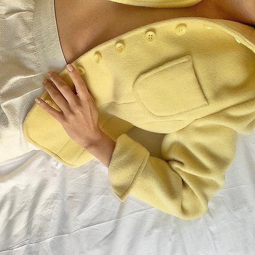 Blazer en laine pastel