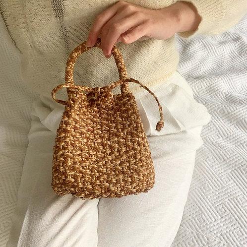 Mini sac panier 70's