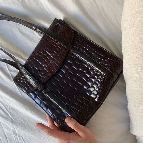 Sac simili croco