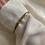 Thumbnail: Gold plated bracelet