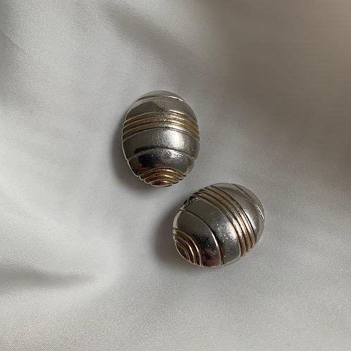 Boucles à clip Argent & Or