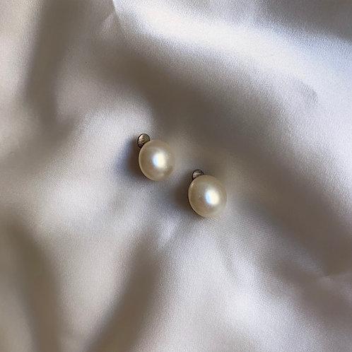 Boucles à clip perles