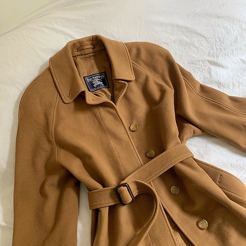 Burberry wool long coat