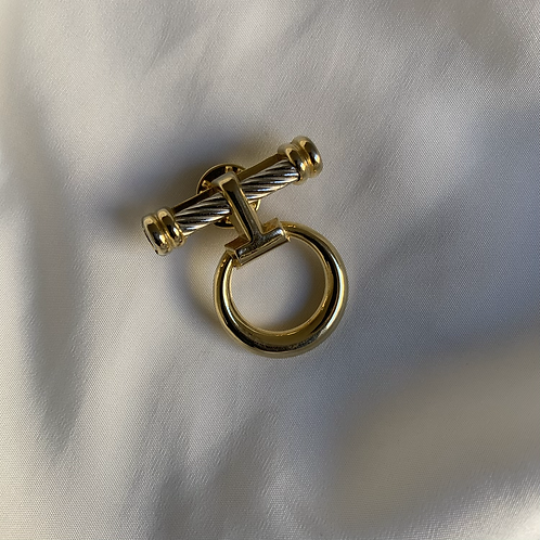 Gold plated pins