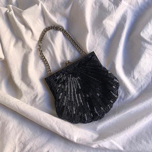 Hand made pearls bag