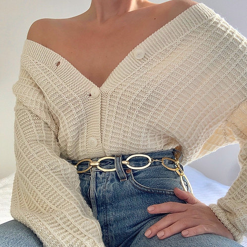 Vintage cream cardigan