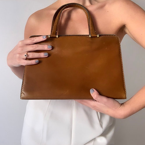 1960s leather bag