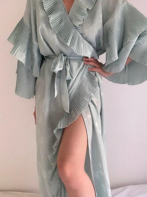 Kimono long satiné