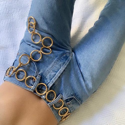 Gold rings belts