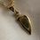 Thumbnail: Pendentif demi-coeur plaqué or