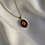 Thumbnail: Gold leaf necklace