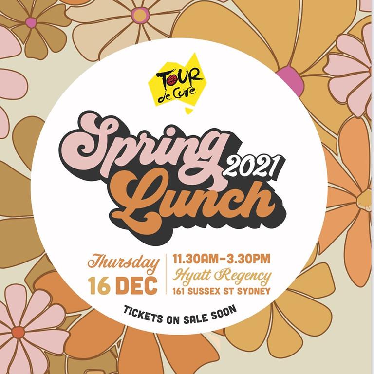 Tour De Cure Spring Lunch
